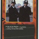 Doctor Who CCG Policemen Black Border Game Trading Card