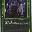 Doctor Who CCG Rutans Black Border Game Trading Card