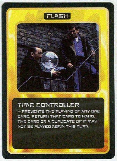 Doctor Who CCG Time Controller Black Border Game Card