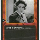 Doctor Who CCG Unit Corporal Black Border Game Card