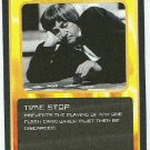 Doctor Who CCG Time Stop Black Border Game Trading Card