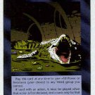 Illuminati Albino Alligators New World Order Game Card