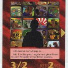 Illuminati Cable TV New World Order Game Trading Card