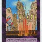 Illuminati Earthquake Projector New World Order Game Card