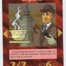 Illuminati England New World Order Game Trading Card