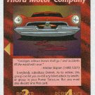 Illuminati Fnord Motor Company New World Order Game Card