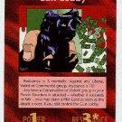 Illuminati Gun Lobby New World Order Game Trading Card