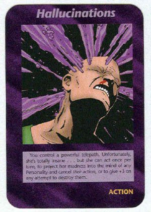 Illuminati Hallucinations New World Order Game Trading Card