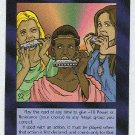 Illuminati Harmonica Virgins New World Order Game Card