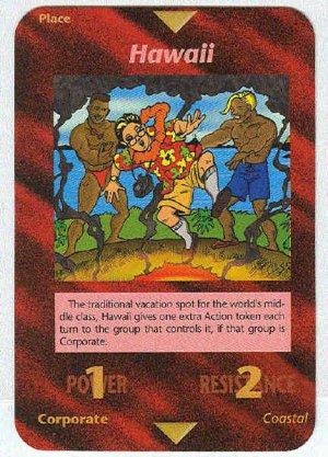 Illuminati Hawaii New World Order Game Trading Card