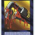 Illuminati Interference New World Order Game Trading Card