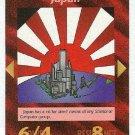 Illuminati Japan New World Order Game Trading Card