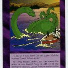 Illuminati Loch Ness Monster New World Order Game Card