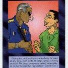 Illuminati Never Surrender New World Order Game Card