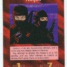Illuminati Ninjas New World Order Game Trading Card