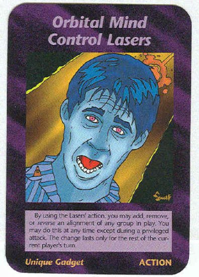 illuminati orbital mind control lasers nwo game trading card