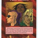 Illuminati Punk Rockers New World Order Game Trading Card