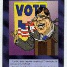 Illuminati Read My Lips New World Order Game Trading Card
