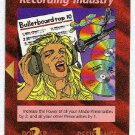Illuminati Recording Industry New World Order Game Card