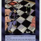 Illuminati Reorganization New World Order Game Card