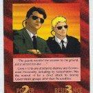 Illuminati Secret Service New World Order Game Card