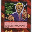 Illuminati TV Preachers New World Order Game Trading Card