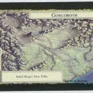Middle Earth Gorgoroth Wizards Limited Game Card
