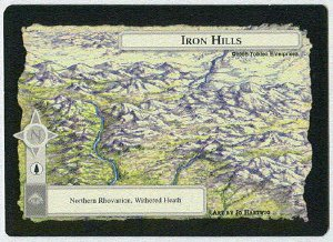 Middle Earth Iron Hills Wizards Limited Game Card