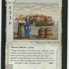 Middle Earth Lake-town Wizards Limited Game Card