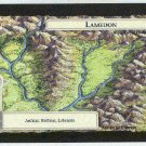 Middle Earth Lamedon Wizards Limited Game Card