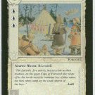 Middle Earth Lossadan Camp Wizards Limited Game Card