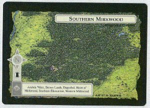 Middle Earth Southern Mirkwood Wizards Limited Game Card