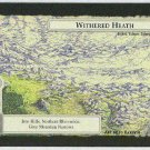 Middle Earth Withered Heath Wizards Limited Game Card
