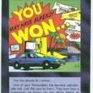 Illuminati Sweepstakes Prize New World Order Game Card