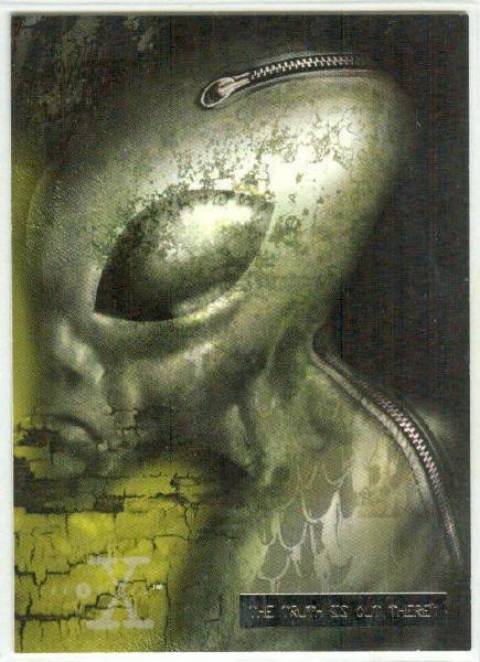 X-Files Season 3 #29 Parallel Card Silver Bar Xfiles
