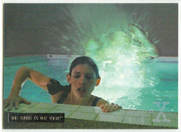 X-Files Season 3 #42 Parallel Card Silver Bar Xfiles