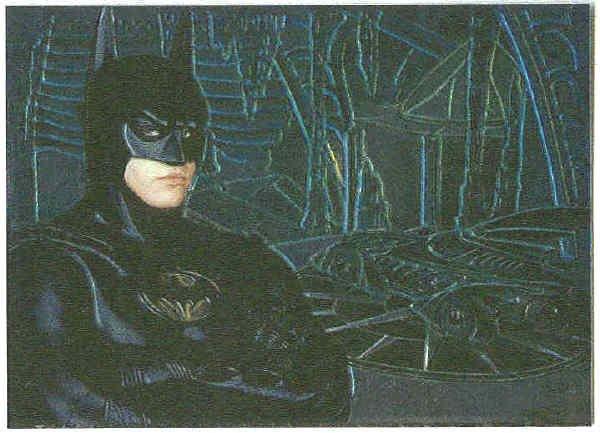 Batman Forever #1 Chromium Anime Chase Card Val Kilmer