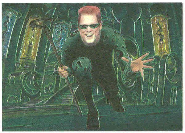 Batman Forever #3 Chromium Anime Chase Card Jim Carrey