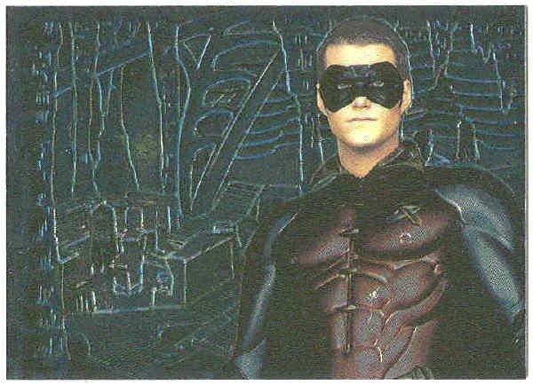 Batman Forever #4 Chromium Chase Card Chris O'Donnell