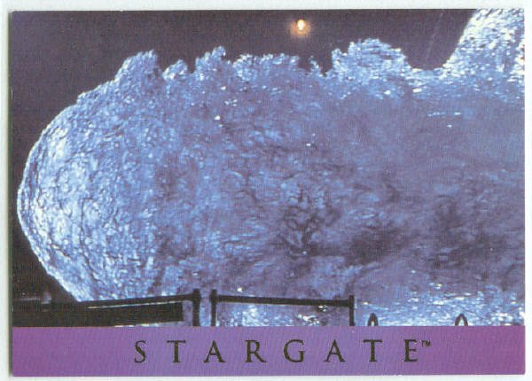 Stargate 1994 Adventure #AS-2 Chase Card Unlocked