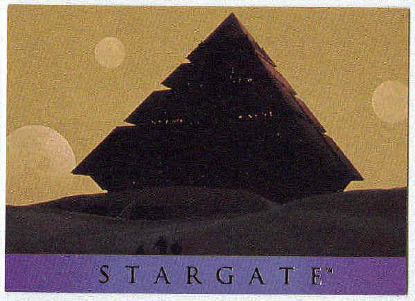 Stargate 1994 Adventure #AS-6 Chase Card Ra's Spacecraft