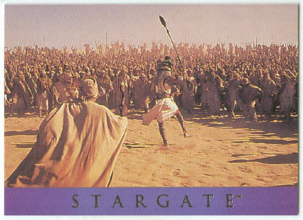 Stargate 1994 Adventure #AS-11 Chase Card Rebellion