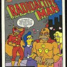 Simpsons 1993 Radioactive Man #R6 Loves Of Ape Card
