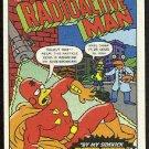 Simpsons 1993 Radioactive Man #R7 Betrayed Chase Card