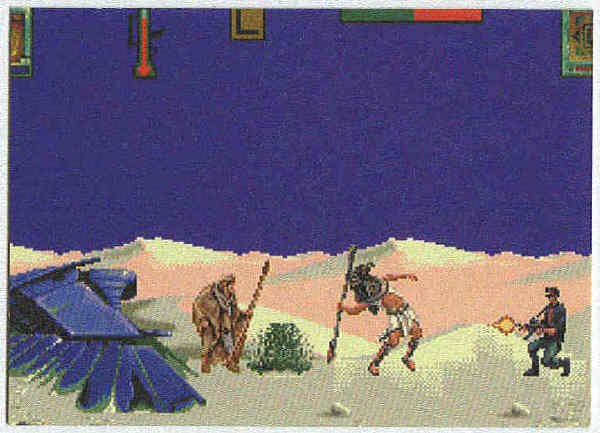 Stargate 1994 #TS-2 Game Tips Chase Trading Card