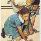 Norman Rockwell 1993 Series 1 Promo Unnumbered Card