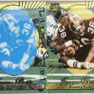 1996 Pacific Jerome Bettis #79 Gold Foil Cel and Litho Cards