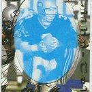 1996 Pacific Rick Mirer #93 Gold Foil Cel Football Card