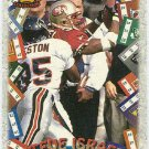 1996 Pacific Steve Israel #GT29 Game Time Football Card