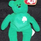 Erin The Bear with Shamrock McDonalds TY Teenie Beanie Baby